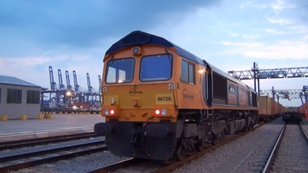62. – Peterborough to Felixstowe Port North Terminal
